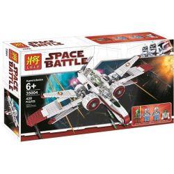 LELE 35004 Xếp hình kiểu Lego STAR WARS ARC-170 Starfighter ARC-170 Star Fighter Máy Bay Chiến đấu ARC-170 396 khối