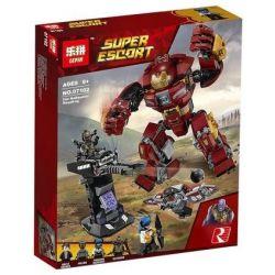 Lepin 07102 Sheng Yuan 1001 SY1001 Bela 10832 Lele 34034 (NOT Lego Marvel Super Heroes 76104 The Hulkbuster Smash-Up ) Xếp hình Bộ Giáp Hulkbuster Siêu Cấp 420 khối