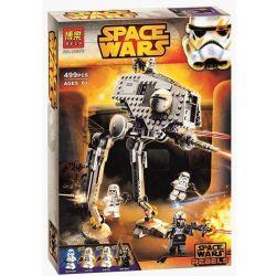 Bela 10376 Lari 10376 SHENG YUAN SY SY506 Xếp hình kiểu Lego STAR WARS AT-DP Cần Dịch 500 khối