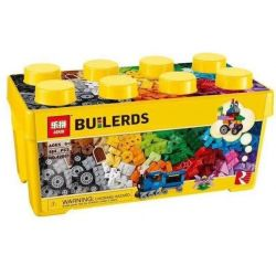 LELE 39075 LEPIN 42001 SHENG YUAN SY SY963 WANGE 093-3 Xếp hình kiểu Lego CLASSIC Medium Creative Brick Box Lego Classic Creative Medium Box Sáng Tạo Hộp Gạch Cỡ Vừa Hộp Nhựa 485 khối