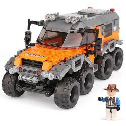 XINGBAO XB-03027 03027 XB03027 Xếp hình kiểu Lego OFFROAD ADVENTURE Super Offroad Adventure Super Off-road Super Full Terrain Vehicle Xe địa Hình 529 khối