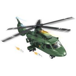 Woma C0705 (NOT Lego Military Army Helicopter ) Xếp hình Trực Thăng 177 khối