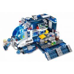 Enlighten 1612 Qman 1612 Xếp hình kiểu Lego SPACE ADVENTURE Space Adventure Mobile Repair Station Starial Adventure Star Repair Truck Sửa Chữa Tàu Cảnh Sát 337 khối