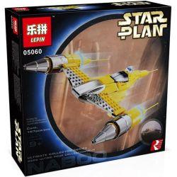 LEPIN 05060 Xếp hình kiểu Lego STAR WARS Special Edition Naboo Starfighter Nabu Star Fighter Phi Thuyền Chiến đấu Naboo 187 khối
