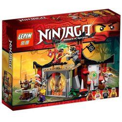 Lepin 06011 Bela 10319 Sheng Yuan 335 SY335 (NOT Lego Ninjago Movie 70756 Dojo Showdown ) Xếp hình Triệt Hạ Dojo 215 khối