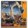 Decool 3359 3328 3324 (NOT Lego Technic 8419 Excavator ) Xếp hình Máy Đào Đất gồm 3 hộp nhỏ 286 khối