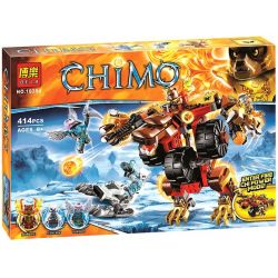 Bela 10354 Lari 10354 LEPIN 04022 Xếp hình kiểu Lego LEGENDS OF CHIMA Bladvic's Rumble Bear Legend Of Qigong Wik Bear Deformation Battle Gấu Rumble Của Bladvic 415 khối
