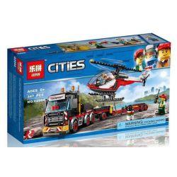 Lepin 02094 Sheng Yuan 6963 Bela 10872 (NOT Lego City 60183 Heavy Cargo Transport ) Xếp hình Vận Tải Hạng Nặng 347 khối