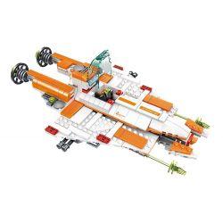WANGE DR.LUCK 55174 Xếp hình kiểu Lego ADVANCED MILITARY Superfine Military Star Destroyer Phi Thuyền Hủy Diệt Các Hành Tinh 429 khối