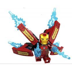 Lele D009 (NOT Lego Super Heroes Iron Man ) Xếp hình Người Sắt 674 khối