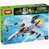 Xinlexin Gudi 600031A 6018 (NOT Lego Military Army F-18 Super Hornet ) Xếp hình Máy Bay Chiến Đấu F-18 gồm 2 hộp nhỏ 284 khối