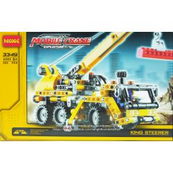 NOT LEGO Technic 8067 Mini Mobile Crane, Decool JiSi BrickCool 3349 Xếp hình Xe Tải Cần Trục (Mẫu 2) 292 khối