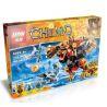 Bela 10354 Lepin 04022 (NOT Lego Legends of Chima 70225 Bladvic's Rumble Bear ) Xếp hình Gấu Rumble Của Bladvic 415 khối