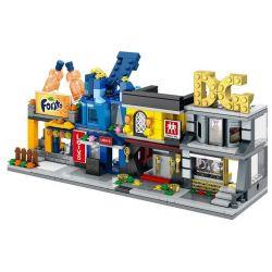 SEMBO SD6076 6076 SD6077 6077 SD6078 6078 SD6079 6079 Xếp hình kiểu Lego MINI MODULAR Sembo Block Sembo Block D&G Mini Street View D & G Mini Street View Levi's Jeans Hair Street View Swing Tool Store