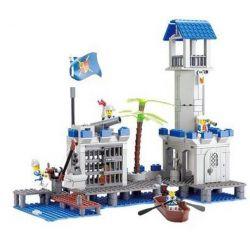 Kazi Gao Bo Le Gbl Bozhi KY87012 (NOT Lego Pirates of the Caribbean Navy Headquaters ) Xếp hình Trụ Sở Hải Quân 365 khối