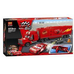 NOT Lego CARS 8486 Mack's Team Truck Racing Story Mac , Bela 10017 Lari 10017 Xếp hình Xe Tải Của Mack 374 khối