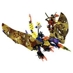 SHENG YUAN SY S8208 8208 Xếp hình kiểu Lego THE LEGO NINJAGO MOVIE Thunder Swordsman Nhà Kiếm Thuật Sấm Sét 302 khối
