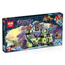 Bela 10699 Lari 10699 LEPIN 30011 Xếp hình kiểu Lego ELVES Breakout From The Goblin King's Fortress Elf Escape From Coplin Wang Fortress Trốn Thoát Khỏi Pháo đài Yêu Tinh 695 khối