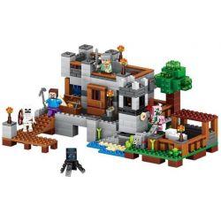 Lele 79287 (NOT Lego Minecraft Deluxe Village ) Xếp hình Biệt Thự Sang Trọng 517 khối