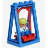Hystoys Hongyuansheng Aoleduotoys HG-1423 (NOT Lego Duplo Family House ) Xếp hình Nhà Bà Ngoại 53 khối