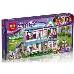 Bela 10612 Lari 10612 BLX 82121 LELE 37030 LEPIN 01014 Xếp hình kiểu Lego FRIENDS Stephanie's House Good Friend Stepani's House Nhà Của Stephanie 622 khối