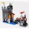 Hystoys Hongyuansheng Aoleduotoys HG-1310 (NOT Lego Duplo 4776 Dragon Tower ) Xếp hình Tháp Canh Bảo Vệ 75 khối