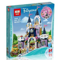 Lepin 25014 Sheng Yuan 988 SY988 Bela 10892 Lele 37063 Decool 70224 (NOT Lego Disney Princess 41154 Cinderella's Dream Castle ) Xếp hình Lâu Đài Trong Mơ Của Cinderella 667 khối