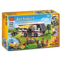 Decool 3117 Sembo SD6970 (NOT Lego Creator 31052 Vacation Getaways ) Xếp hình Kỳ Nghỉ Đáng Nhớ 792 khối