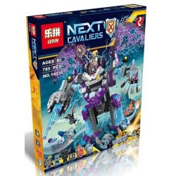 Lepin 14036 Bela 10705 Sheng Yuan 898 SY898 Heima 5014 (NOT Lego Nexo Knights 70356 The Stone Colossus Of Ultimate Destruction ) Xếp hình Robot Dơi Quỷ Khổng Lồ 785 khối