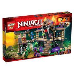 Bela 10324 Lari 10324 LEPIN 06005 SHENG YUAN SY SY339 Xếp hình kiểu THE LEGO NINJAGO MOVIE Enter The Serpent Brave Mad Bunker Thâm Nhập Hang ổ Mãng Xà 529 khối