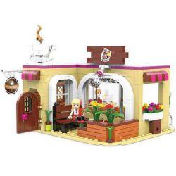 XINGBAO XB-12011 12011 XB12011 Xếp hình kiểu Lego CITY GIRL CityGirl Coffee Time Campus Girl Tiệm Tạp Hóa Vui Nhộn Của Các Cô Gái 426 khối