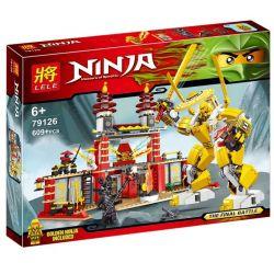 Bela 9795 Lari 9795 LELE 31129 79126 Xếp hình kiểu THE LEGO NINJAGO MOVIE Temple Of Light Ngôi đền ánh Sáng 565 khối