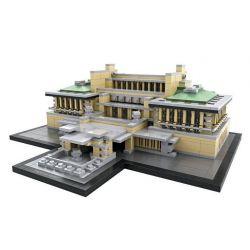 Loz 1017 Mini Blocks Architecture Imperial Hotel Xếp hình Khách Sạn Hoàng Gia 1187 khối
