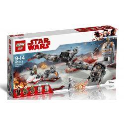Bela 10913 Lari 10913 LEPIN 05141 Xếp hình kiểu Lego STAR WARS Defense Of Crait Krifer Defense Hàng Rào Phòng Thủ Của Crait 746 khối
