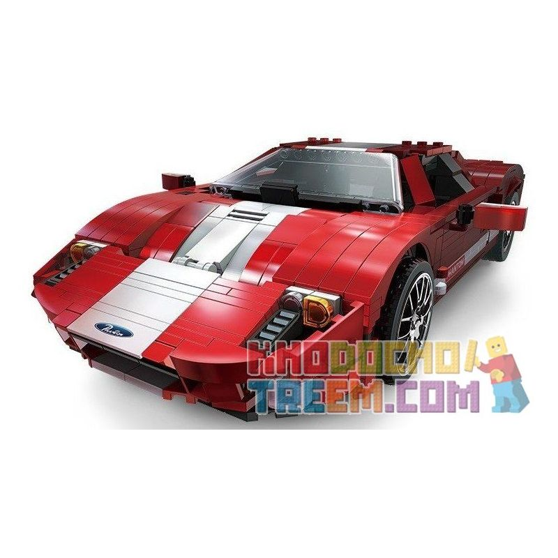 Xingbao XB-03011 (NOT Lego Creator Ford Gt ) Xếp hình Siêu Xe 919 khối