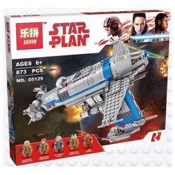 Bela 10914 Lari 10914 LEPIN 05129 Xếp hình kiểu Lego STAR WARS Resistance Bomber The Final Jedi Warrior Anti-military Bomber Chống Lại Máy Bay Ném Bom 778 khối