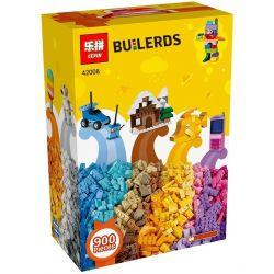 LEPIN 42008 Xếp hình kiểu Lego CLASSIC Classic Lego® Creative Box Sáng Tạo Hộp Nhỏ Xinh 900 khối