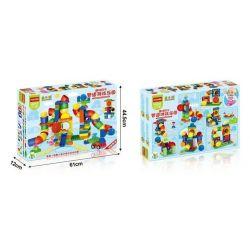 NOT LEGO Education 9089 Tubes Experiment Set, HuiMei Star City Xing Dou Cheng HM132 Xếp hình Ống Trượt 153 khối