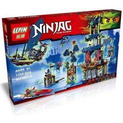 Lepin 06014 Bela 10401 Lele 79124 Sheng Yuan 392 SY392 (NOT Lego Ninjago Movie 70732 City Of Stiix ) Xếp hình Thành Phố Stiix 1109 khối