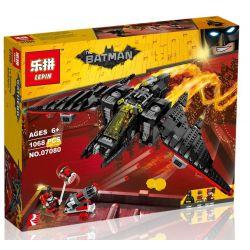 Lepin 07080 Sheng Yuan 943 SY943 (NOT Lego Batman Movie 70916 The Batwing ) Xếp hình Phi Thuyền Người Dơi 1068 khối