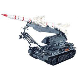 Xingbao XB-06003 (NOT Lego Military Army Sa-2 Guideline ) Xếp hình Tên Lửa Sa-2 1623 khối