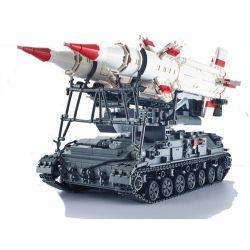 Xingbao XB-06007 (NOT Lego Military Army Sa-4 Ganef ) Xếp hình Tên Lửa Sa-4 Ganef 1469 khối