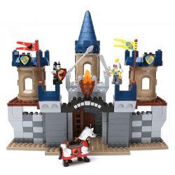 NOT Lego Duplo DUPLO 4864 Castle, HYSTOYS HONGYUANSHENG AOLEDUOTOYS  HG-1314 1314 HG1314 Xếp hình Lâu đài Trung Cổ 280 khối