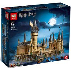 Lepin 16060 Sheng Yuan 1192 Bela 11025 Lele 39170 69500 Queen 83037 (NOT Lego Harry Potter 71043 Hogwarts Castle ) Xếp hình Lâu Đài Phép Thuật 6742 khối