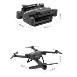 Jie Star SkyHunter X8 Black drone quadcopter có camera + 2 pin + kính VR