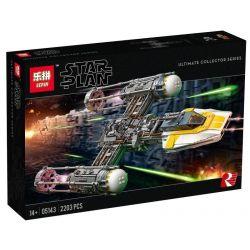 LEPIN 05143 SHENG YUAN SY 1106 Xếp hình kiểu Lego STAR WARS Y-wing Starfighter Y-wing-shaped Fighter Máy Bay Ném Bom Cánh Y 1967 khối