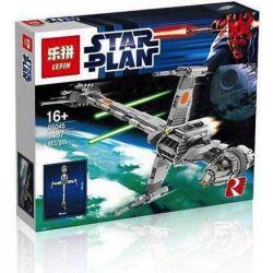 LEPIN 05045 Xếp hình kiểu Lego STAR WARS B-Wing Starfighter B-wing And Stars Fighter Phi Thuyền Chiến đấu Thanh Gươm 1487 khối