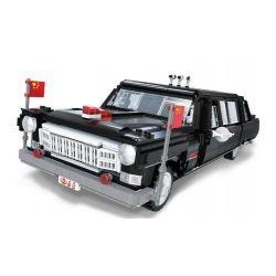 XINGBAO XB-03003 03003 XB03003 Xếp hình kiểu Lego CREATOR 巨匠 Master Master Master Xe ô Tô Hồng Kỳ 2327 khối