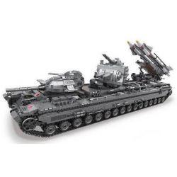 Xingbao XB-06006 (NOT Lego Military Army Kv-2 Tank ) Xếp hình Siêu Tăng Kv-2 3663 khối
