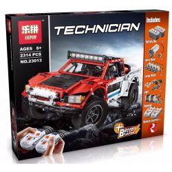 LEPIN 23013 REBRICKABLE MOC-3662 3662 MOC3662 Xếp hình kiểu Lego TECHNIC Baja Trophy Truck With SBrick Baha Award Truck Xe Bán Tải SUV 1718 khối